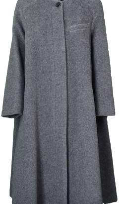 Jil Sander Navy D One Button Coat