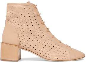 576f07b69a25 COM · Acne Studios Mable Perforated Leather Ankle Boots