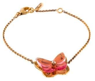 Baccarat Crystal Butterfly Bracelet