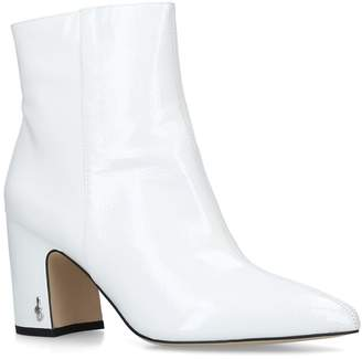 Sam Edelman Patent Hilty Ankle Boots