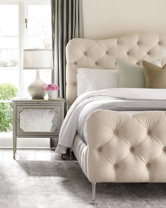 Caracole Ashleena Tufted Queen Bed