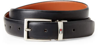 Tommy Hilfiger Black & Tan Faux Leather Flex Reversible Belt