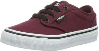 Vans Kids Atwood (Canvas) /Black Skate Shoe 7 Kids US