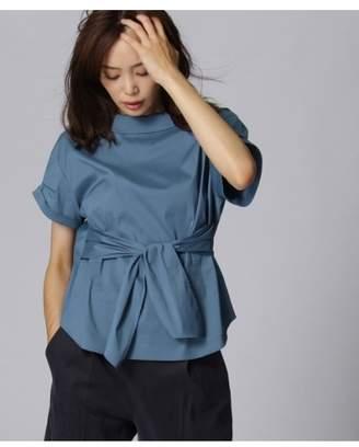 UNTITLED (アンタイトル) - アンタイトル 〔洗える〕オフタートル風ベルテッドシャツ