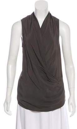 Victoria Beckham Draped Sleeveless Top