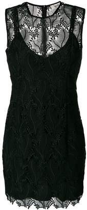 Diane von Furstenberg lace overlay dress
