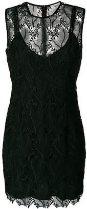 Diane von Furstenberg lace overlay dress