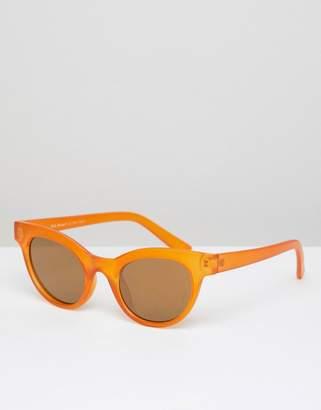 A. J. Morgan Aj Morgan AJ Morgan round sunglasses in matte orange