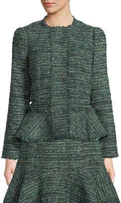 Rebecca Taylor Tweed Fit-&-Flare Jacket