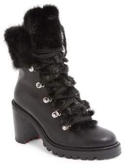 d58437c21bb Louboutin Black Booties - ShopStyle