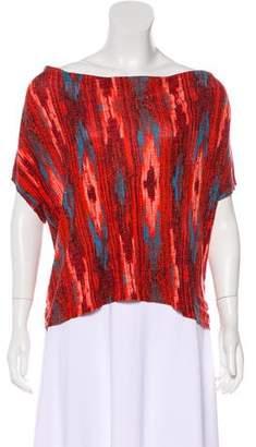 Ella Moss Short Sleeve Printed Top