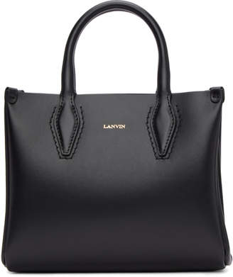 Lanvin Black Mini Shopper Tote