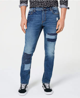 American Rag Men Patched Jeans