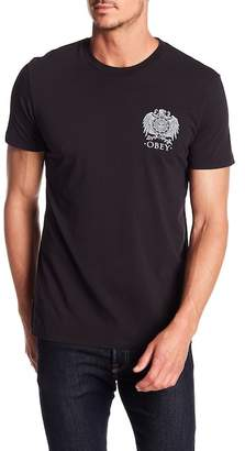 Obey Broken Eagle Graphic T-Shirt