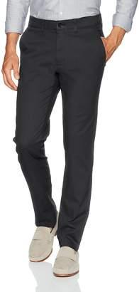Haggar Men's Coastal Comfort Slim Fit Superflex Waist Flat Front Pant