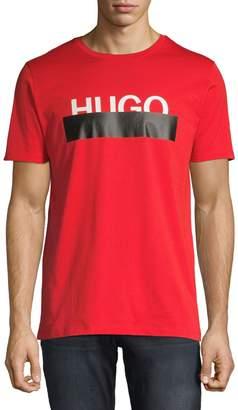 HUGO Short Sleeve Logo Crew Neck Tee