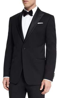Armani Collezioni G-Line Peak-Lapel Wool Tuxedo