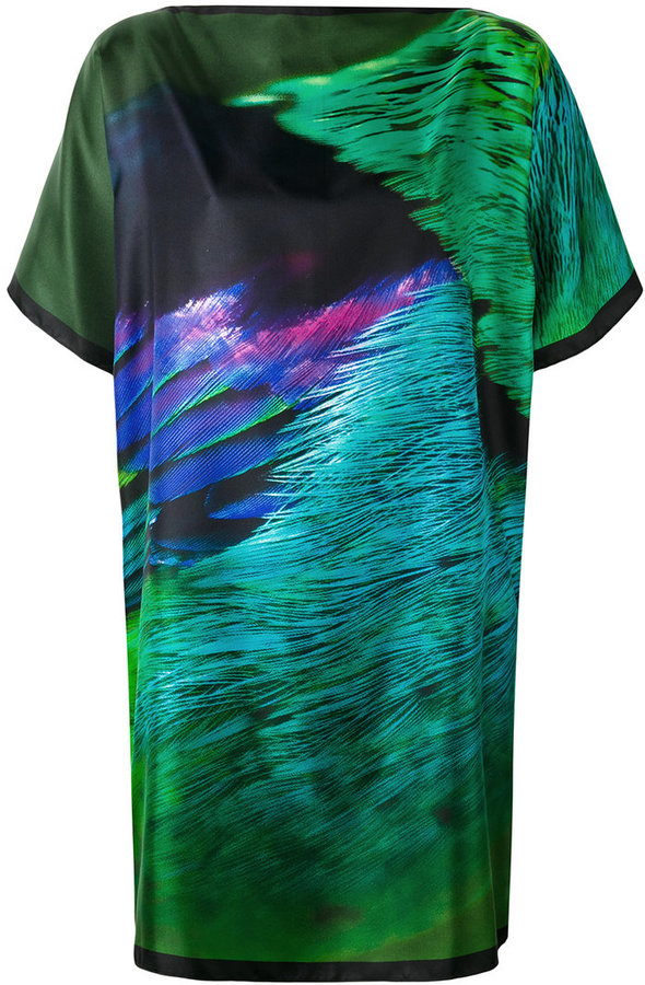 Max Mara Max Mara abstract print T-shirt dress