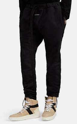 Fear Of God Men's Cotton French Terry Belted Sweatpants - Black