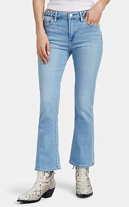 Frame Women's Le Crop Mini Boot Jeans - Blue