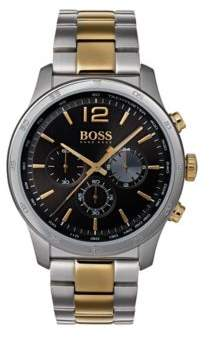HUGO BOSS Professional, Stainless Steel Chronograph Watch 1513529 One Size Assorted-Pre-Pack