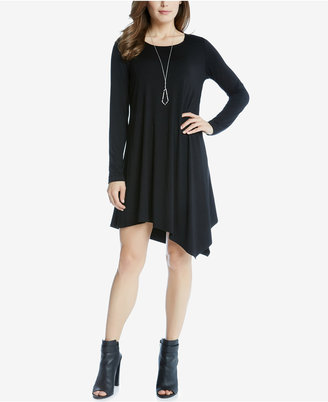Karen Kane Ellie Asymmetrical Shift Dress $99 thestylecure.com