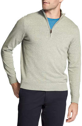 Izod Premium Essentials Quarter Zip Sweater