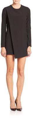 Asymmetrical Shift Dress $555 thestylecure.com