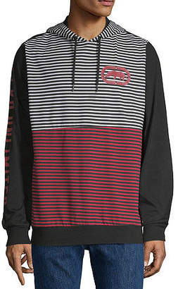 Ecko Unlimited Unltd Long Sleeve Jersey Stripe Hoodie