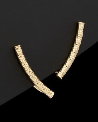 14K Italian Gold Ear Crawlers
