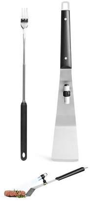 Sagaform Extendable Fork & Spatula BBQ set
