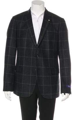 Gant Windowpane Wool Blazer w/ Tags