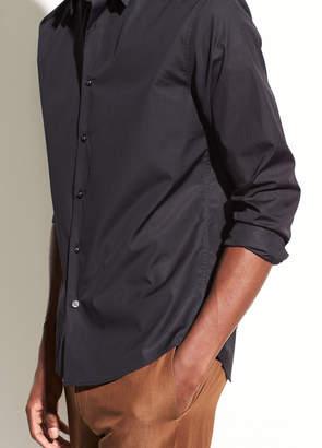 Vince Cotton-Poplin Long Sleeve