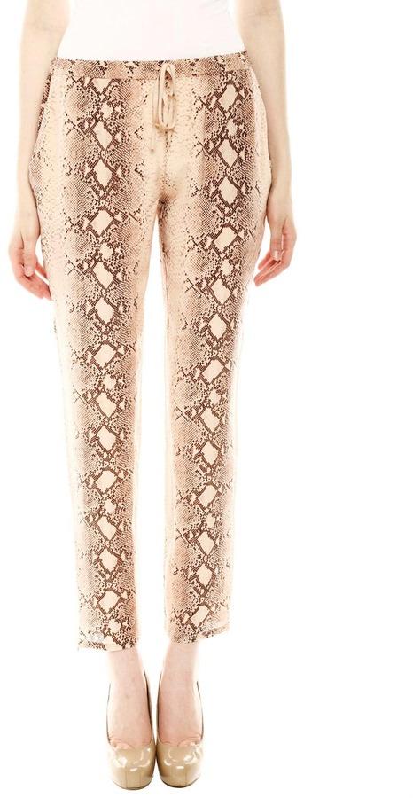 Acrobat Snake Print Pants