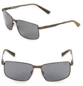 Revo Navigator 59MM Square Sunglasses