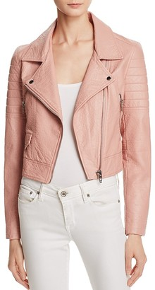 BLANKNYC Quilted Faux Leather Moto Jacket $128 thestylecure.com