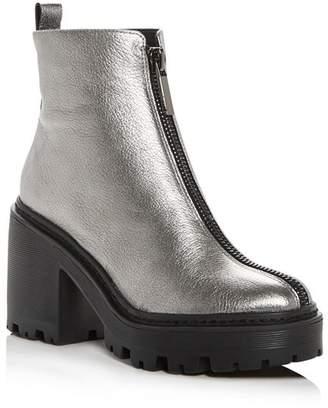 KENDALL + KYLIE Women's Jace Block-Heel Platform Booties