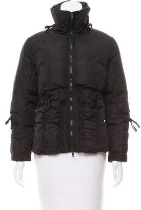 Blumarine Tie-Accented Short Coat