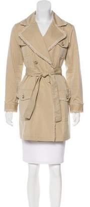 Chanel Fringe-Trimmed Short Coat