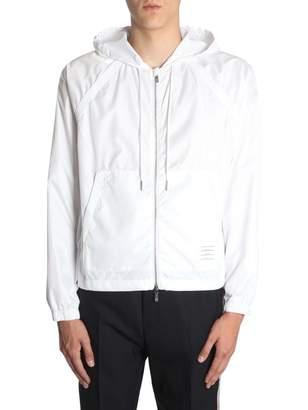 Thom Browne Hooded Jacket With Zip
