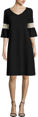 Tiana B Long Sleeve Sheath Dress - Tall