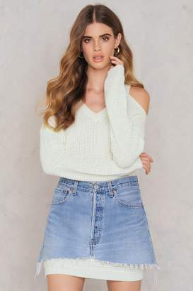 Rut & Circle Rut&Circle Luna cold shoulder knit