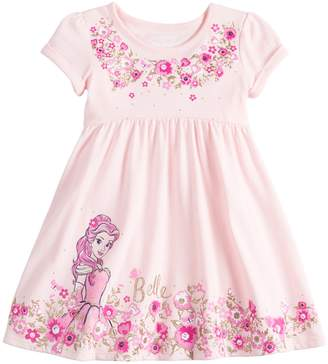 Princess Girls Disneyjumping Beans Disney's Beauty and the Beast Belle Toddler Girl Babydoll Dress by Jumping Beans