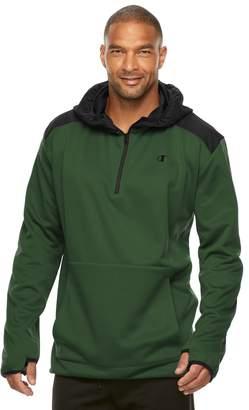 Champion Big & Tall Modern-Fit Fleece Quarter-Zip Hoodie
