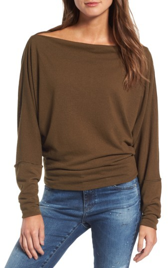 Women's Free People Valencia Off The Shoulder Pullover