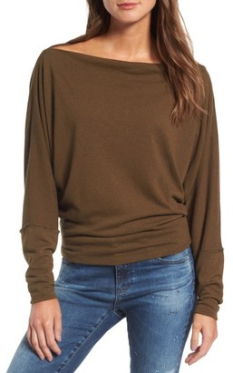 Women's Free People Valencia Off The Shoulder Pullover $68 thestylecure.com