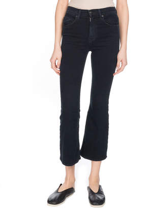 Proenza Schouler Flared Cropped Jeans
