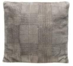 Brunello Cucinelli Mink Houndstooth Pillow
