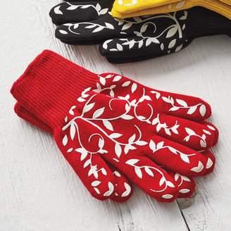 Sur La Table Floral Vine Small Oven Gloves, Set of 2