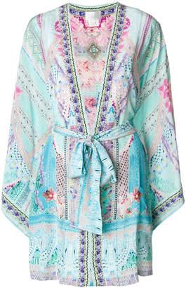 Camilla floral print kimono